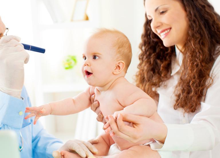 badanie reakcji dziecka